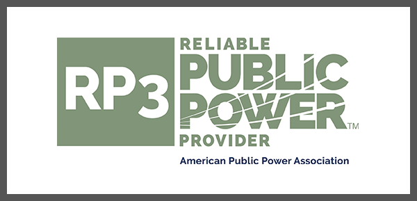 Recognized For Reliable Electric Operations; RP3 Platinum Designation